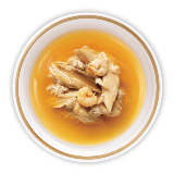 Clear Broth With Tuna And Chicken